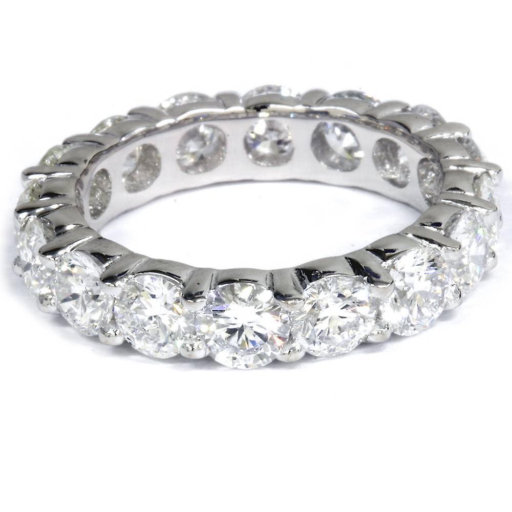 5 Karat Labor Erstellt Diamond Ewigkeit Ring Damen Hochzeit Band 14k