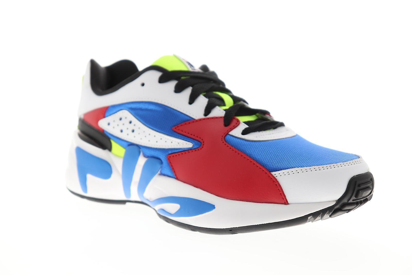 Fila Mindblower menns blå casual blonder opp lav topp joggesko sko