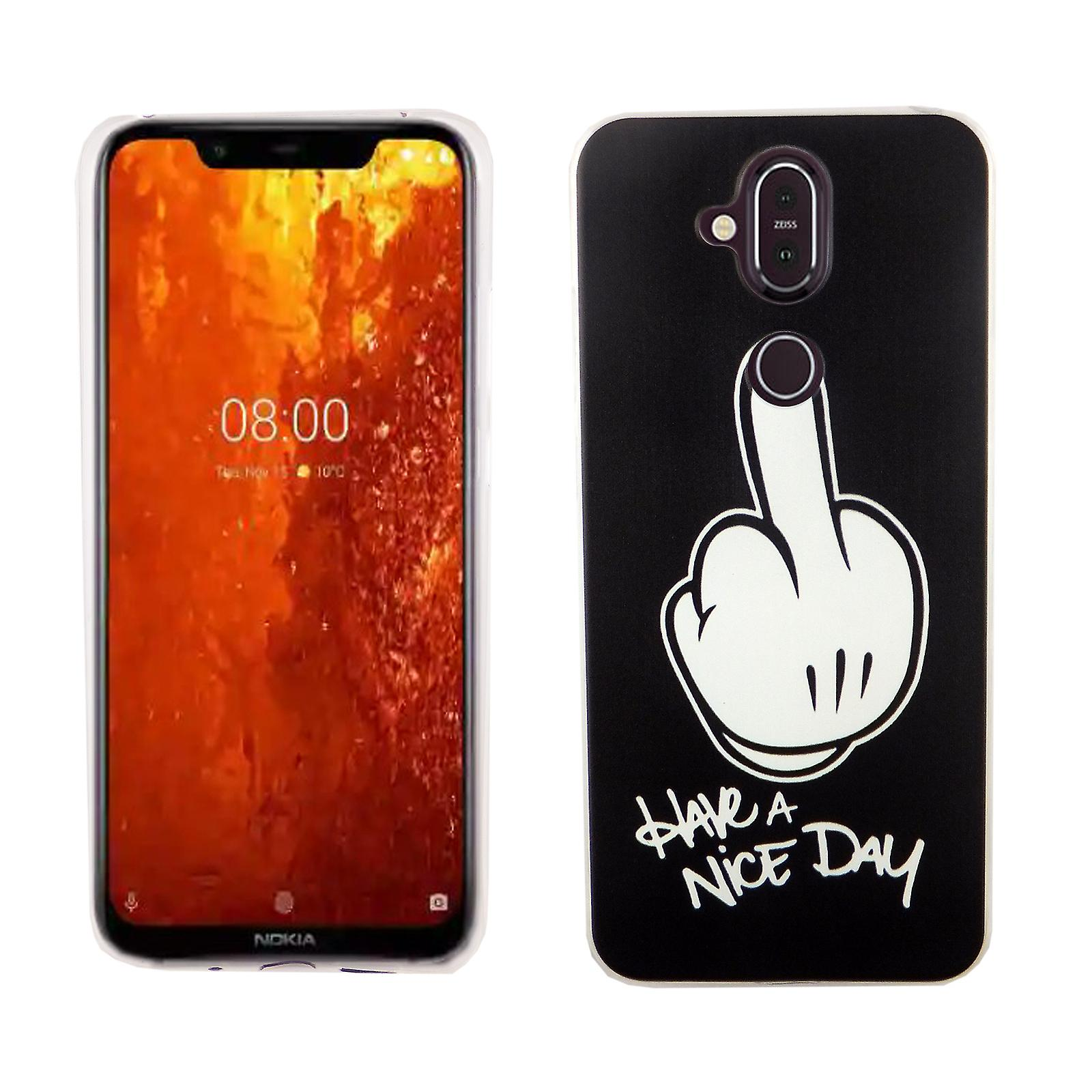 cheap for discount f0fb9 c09ce Nokia 8.1 / Nokia X 7 King-shop mobile-cover protective case cover bumper  have a nice day
