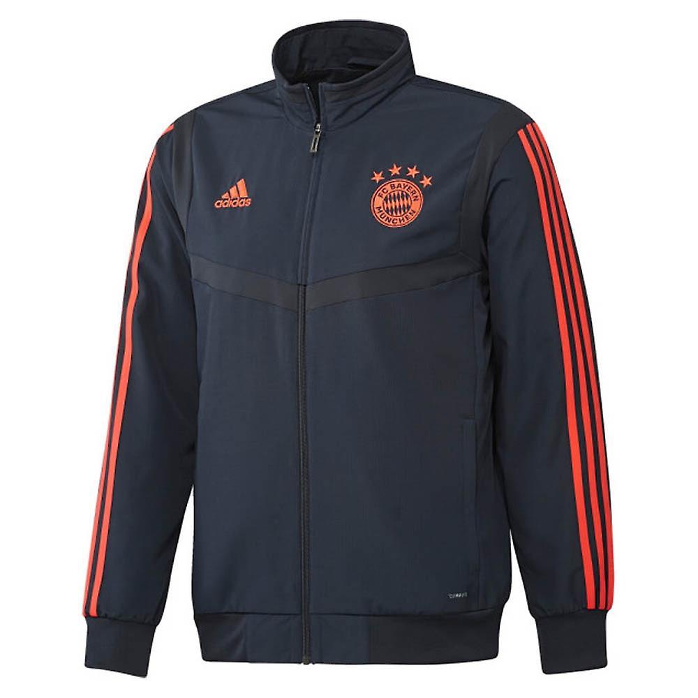 2019 2020 Bayern Munich Adidas EU Presentation Jacket (Navy)