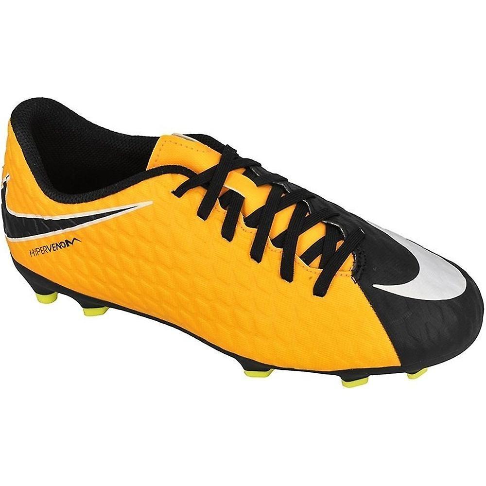 huge selection of 69aa9 ca754 Nike Hypervenom Phade Iii FG JR 852580801 football all year kids shoes