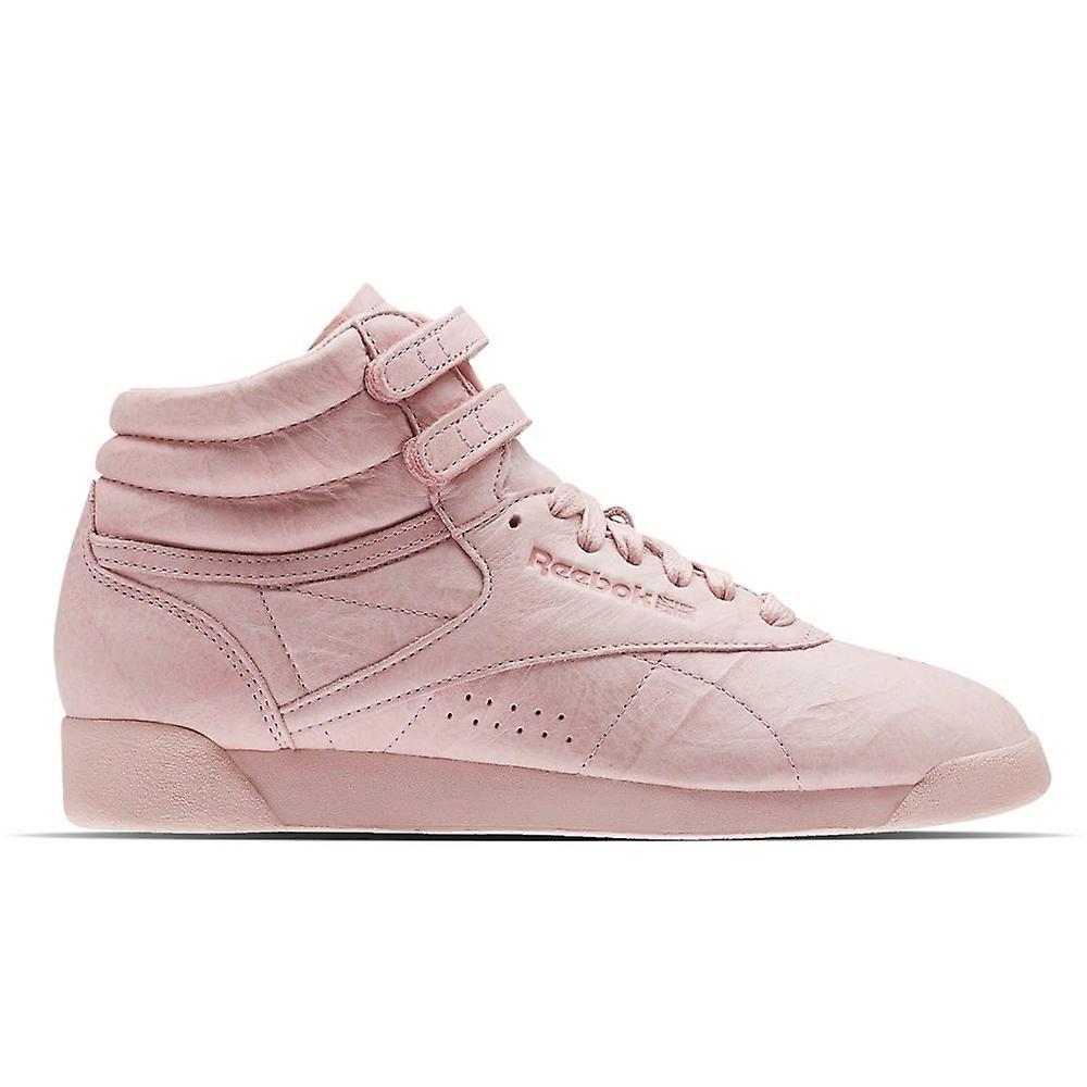 Reebok Freestyle HI Fbt polsk rosa BS6279 universal alle år kvinner sko