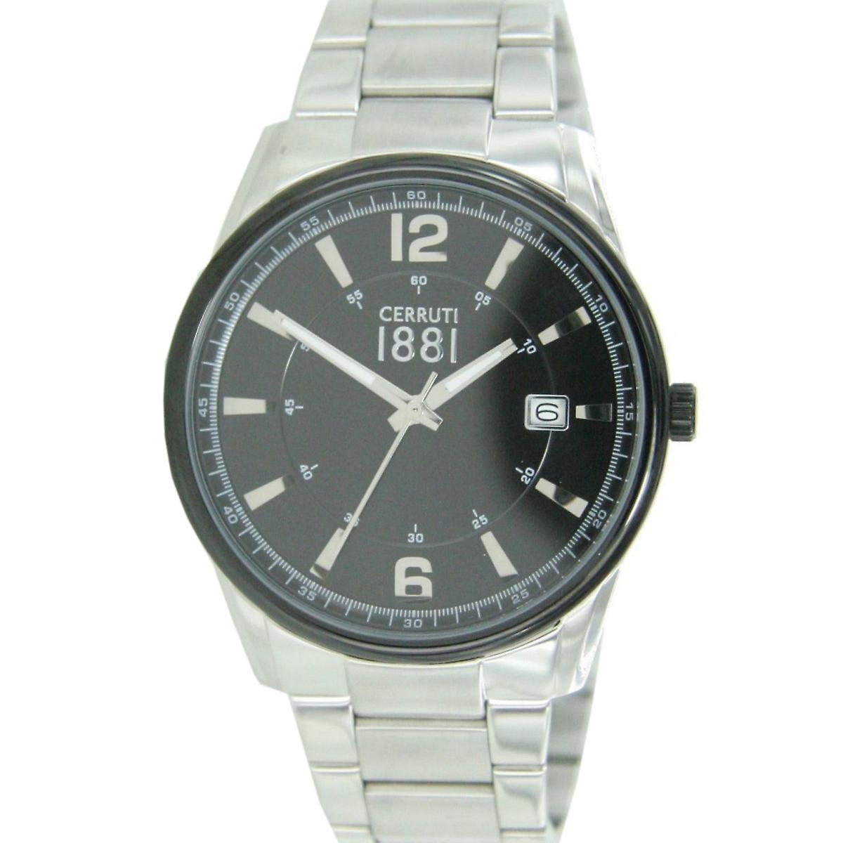 09e67fb7a0e1a مشاهدة 1881 شيروتي رجالي ساعة اليد الفولاذ المقاوم للصدأ CRA103STB02MS