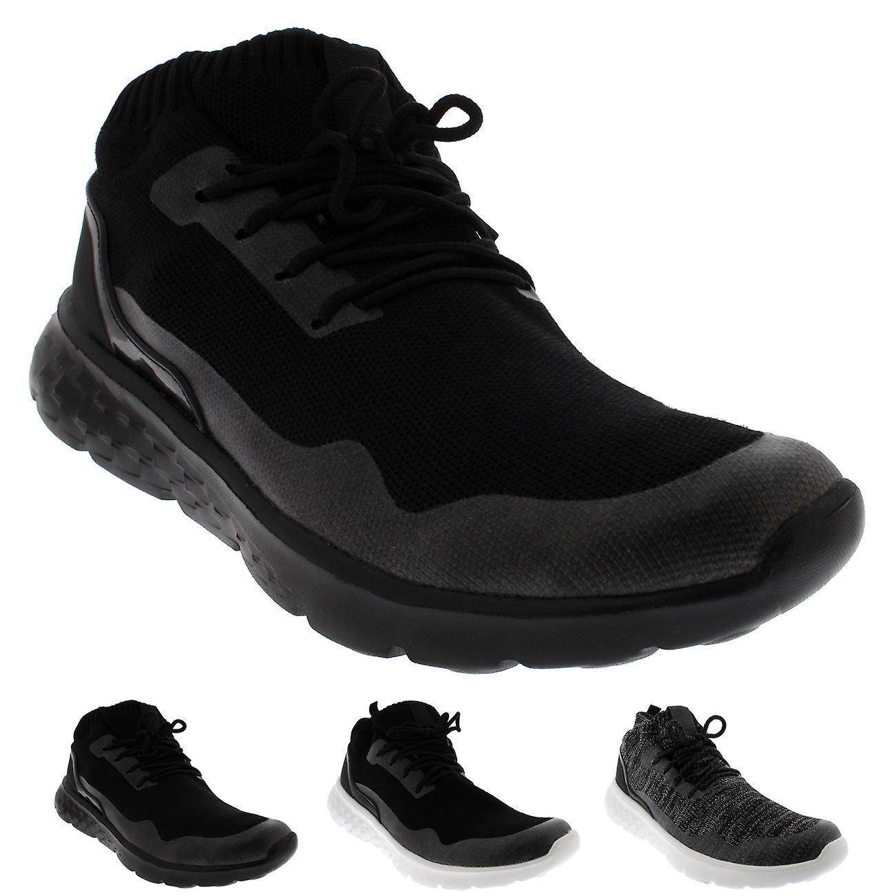 Cushioned Lightweight Fitness Sock Trainers Mens Gym Running Walking trhQsxdC