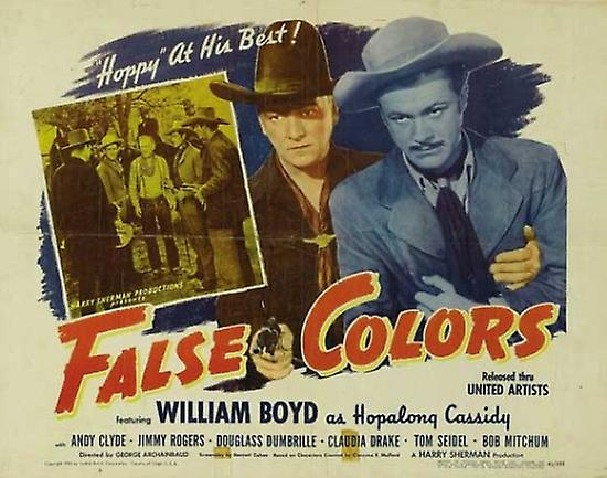 False colors movie poster