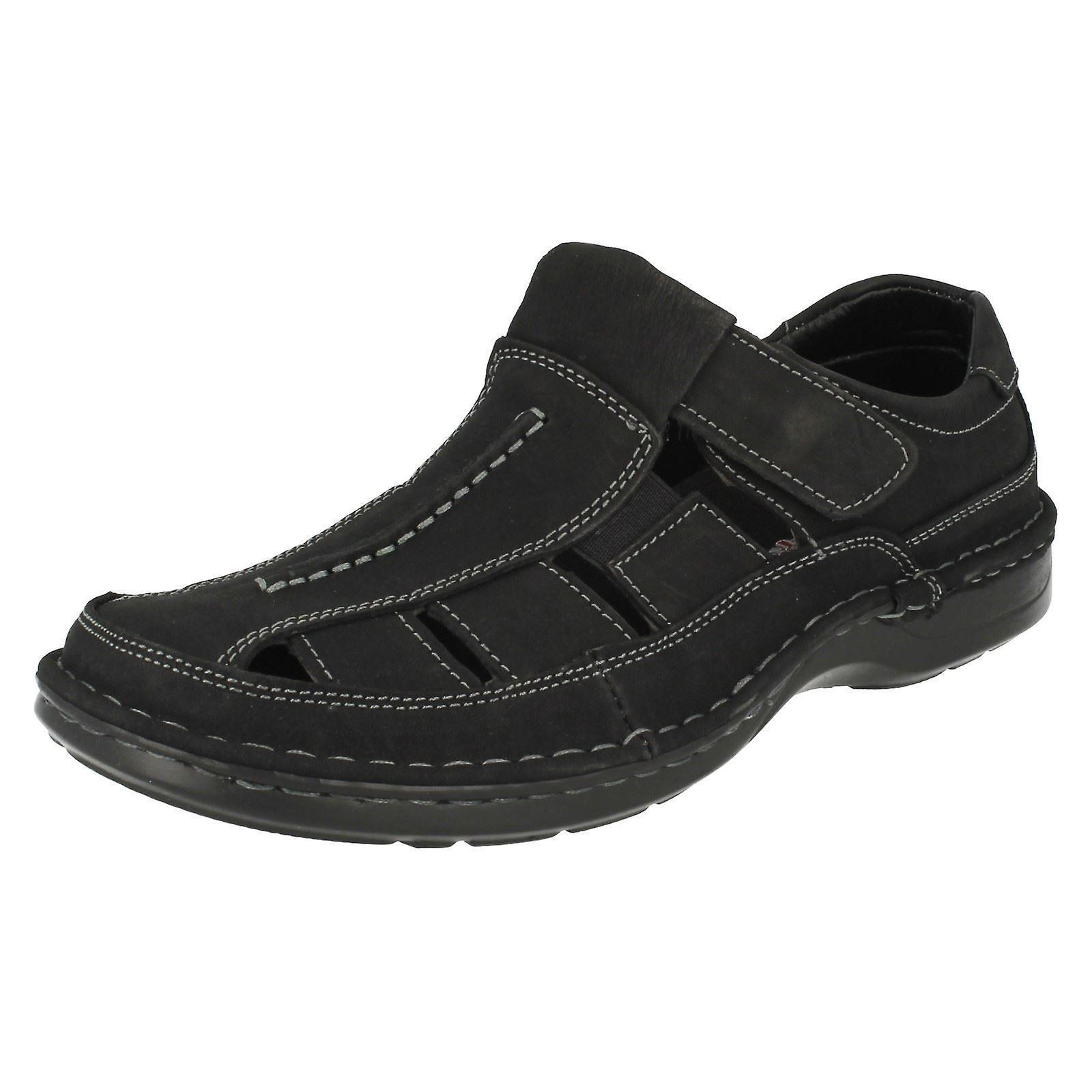 f59021f53510 Mens Padders Closed Toe Leather Sandals Breaker