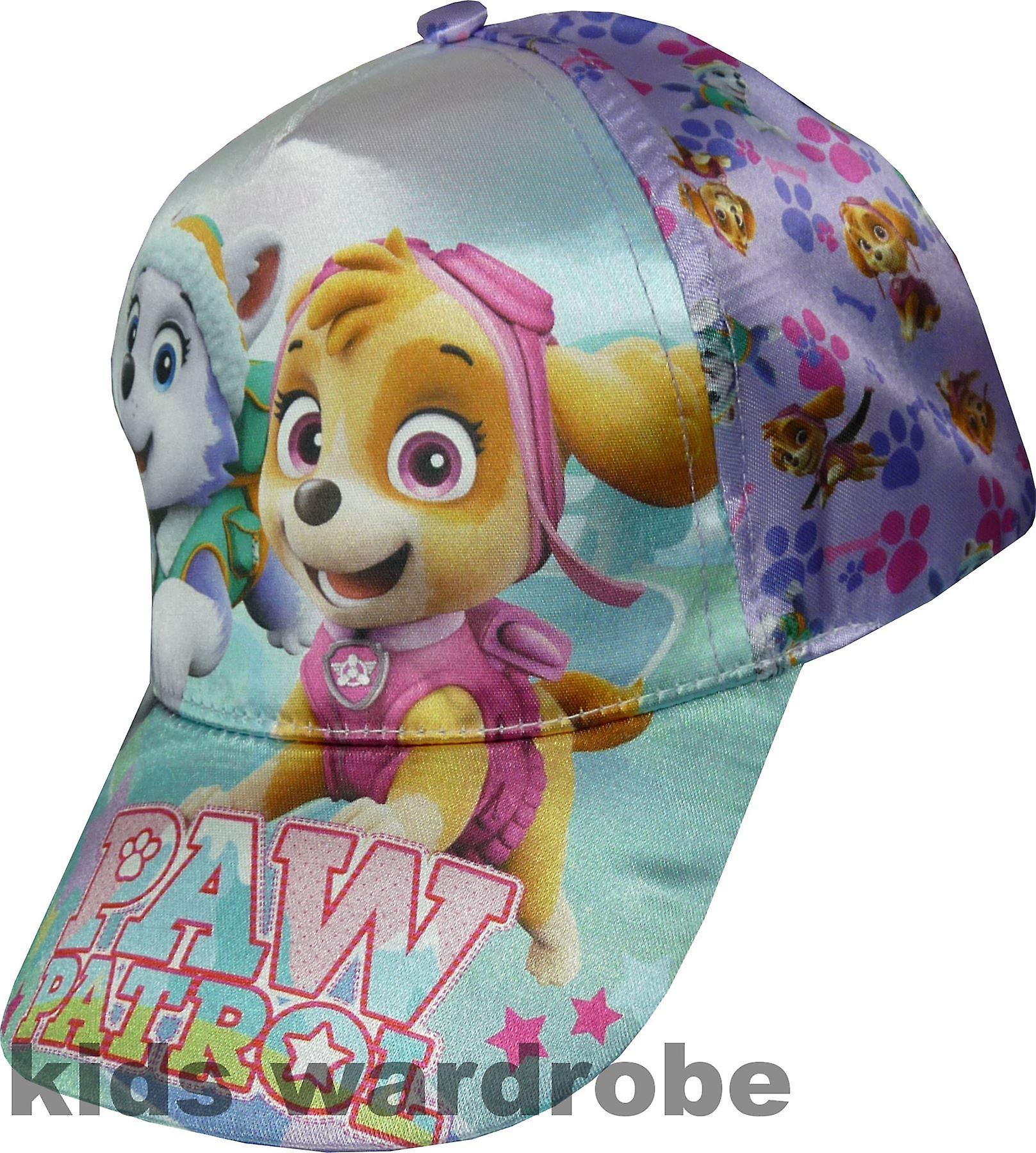 uk availability 2b06d e2bf5 Girls Paw Patrol Baseball Cap with Adjustable Back