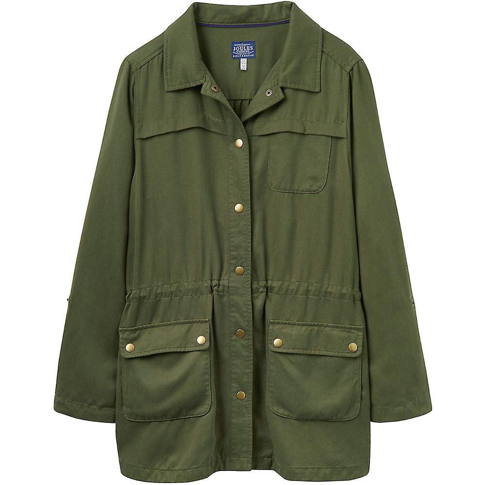 Joule kvinnersdamer Cassidy Safari stilige lett Casual jakke