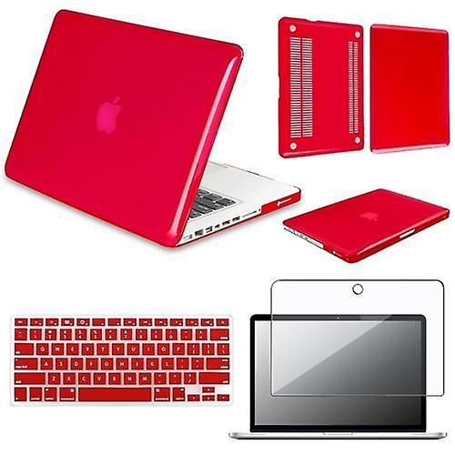 Wellindal Protection Pack Macbook Pro 13 3 Red -