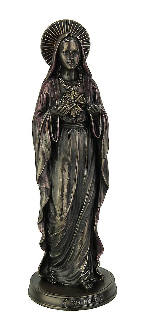 Lady Portia Aquarian Divine Justice Bronze Finish Statue