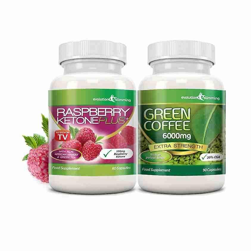 grönt kaffe och hallon ketoner