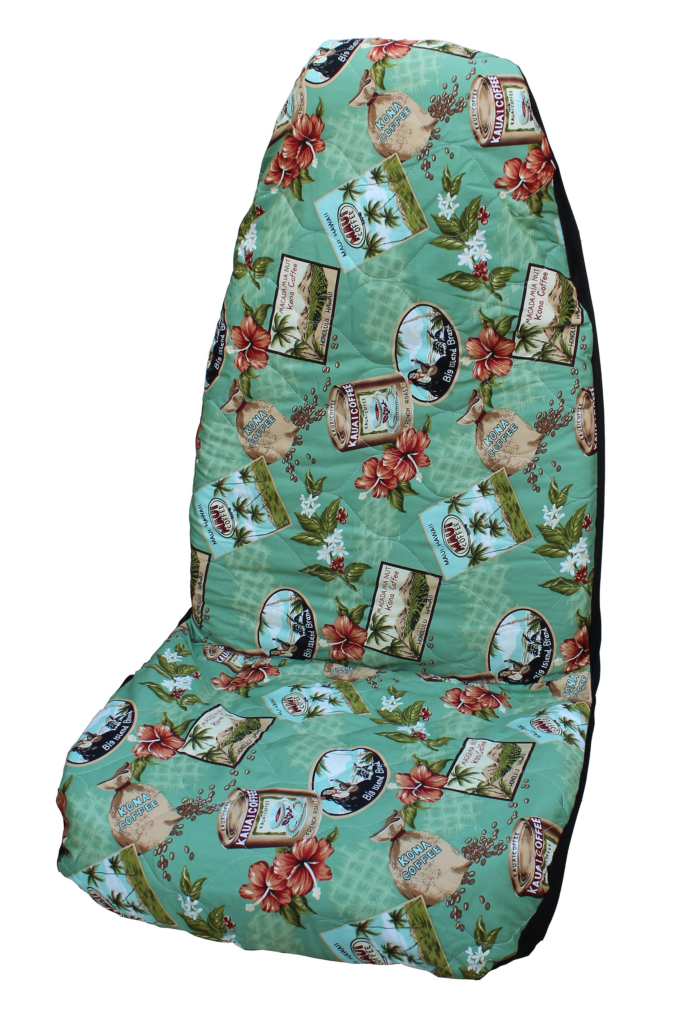 Hawaiian Car Seat Covers >> Side Airbag Optional Kona Coffee Hawaiian Car Seat Covers