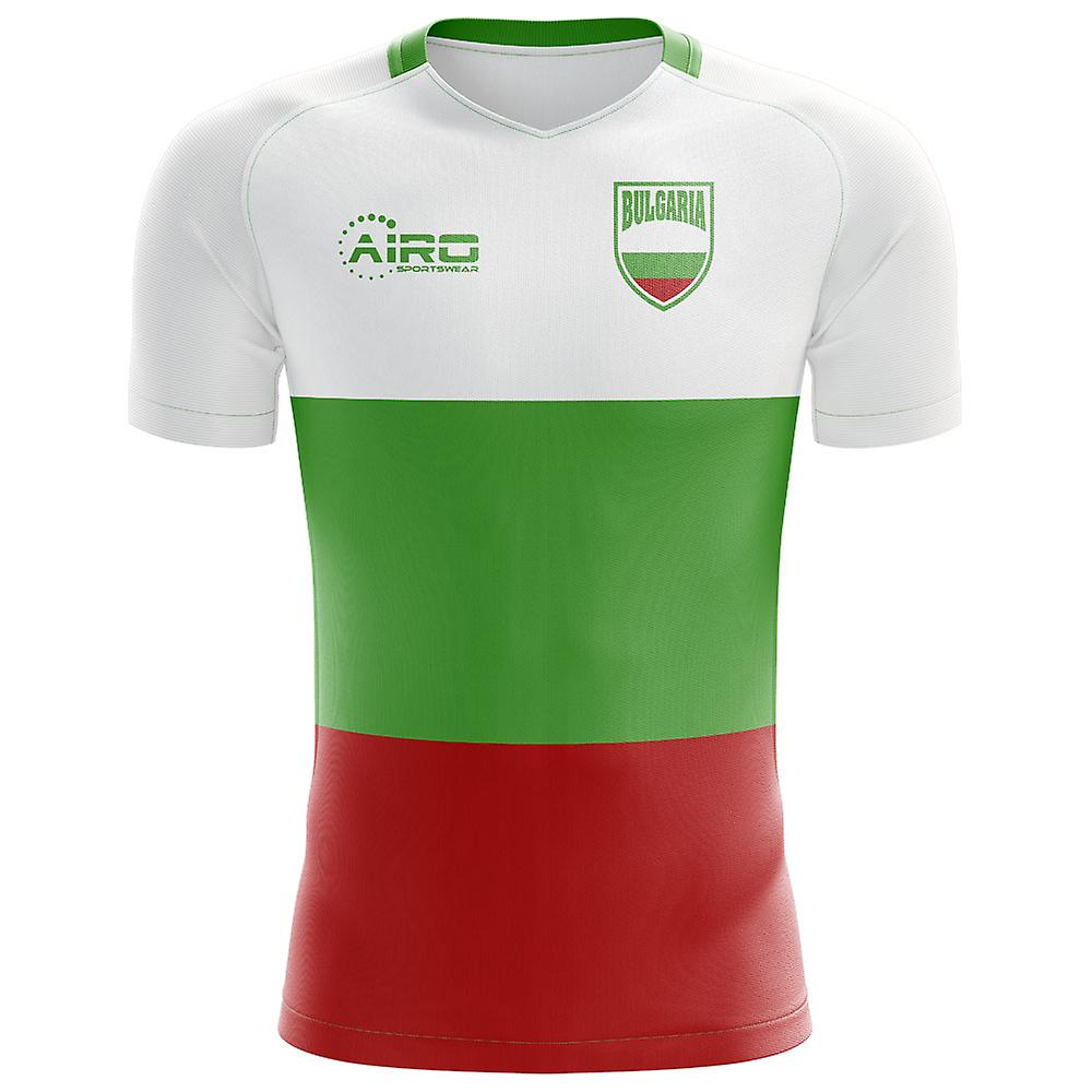 2018-2019 Bulgaria Flag Concept Football Shirt (Kids)  965876faa