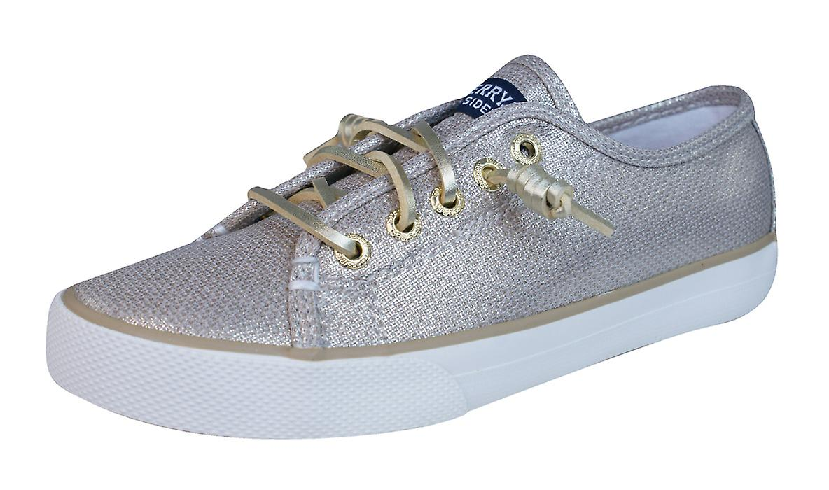 8c601d6c671 Sperry Seacoast Girls Deck   Boat Shoes - Gold
