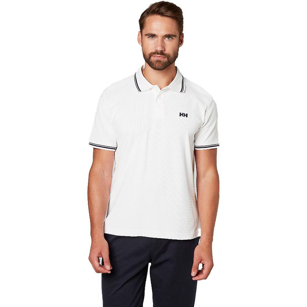 Helly Hansen Herre KOS kortærmet Casual hurtig tørring Polo T Shirt