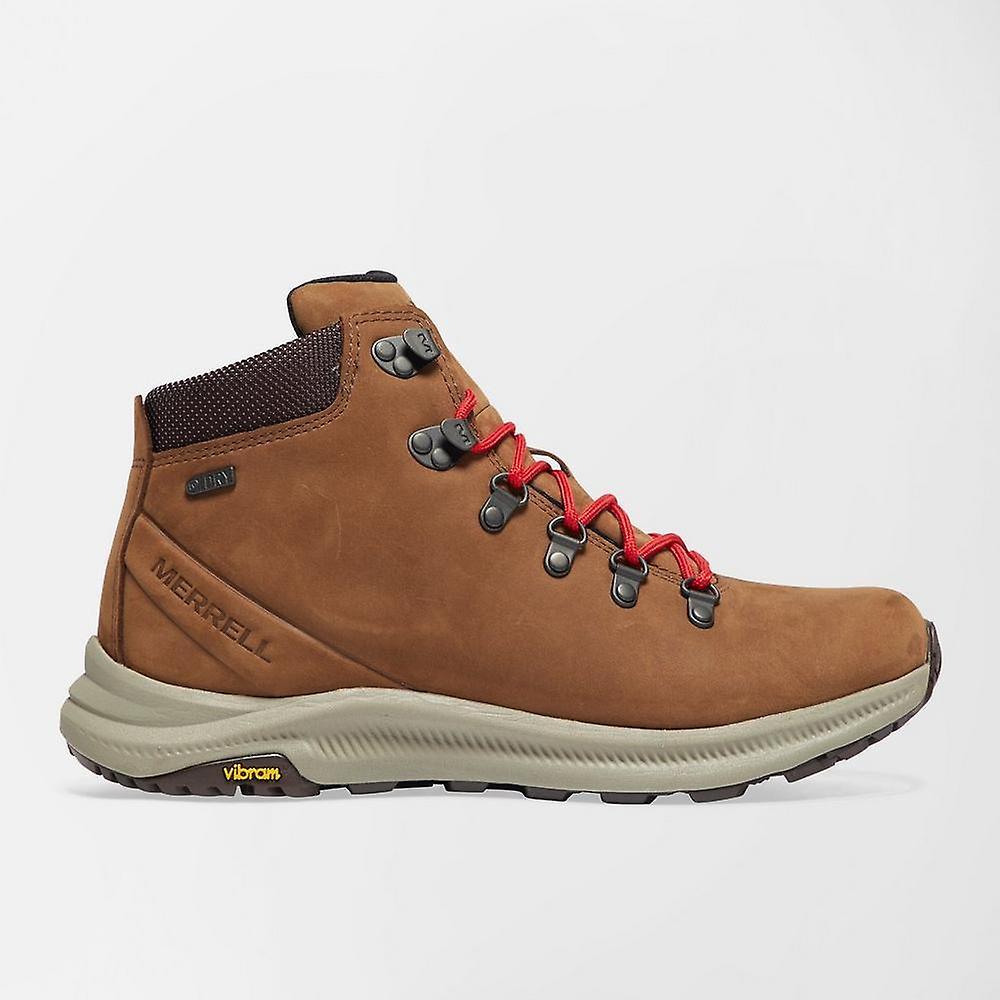 365875b6308 New Merrell Men's Ontario Mid Waterproof Walking Boots Brown