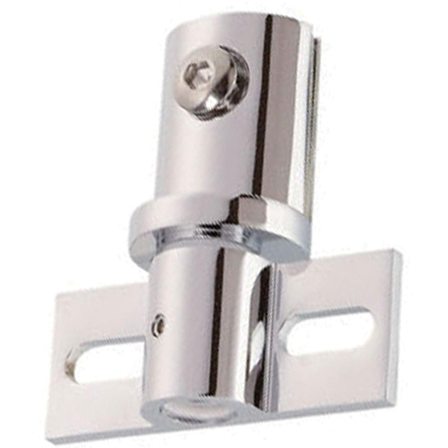 Pivot Hinge For Glass Shower Doors 6mm To 10mm Glass Copper Polished Chrome