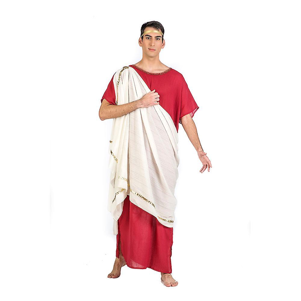 Roman Augustus mens costume Toga Roman tunic men costume