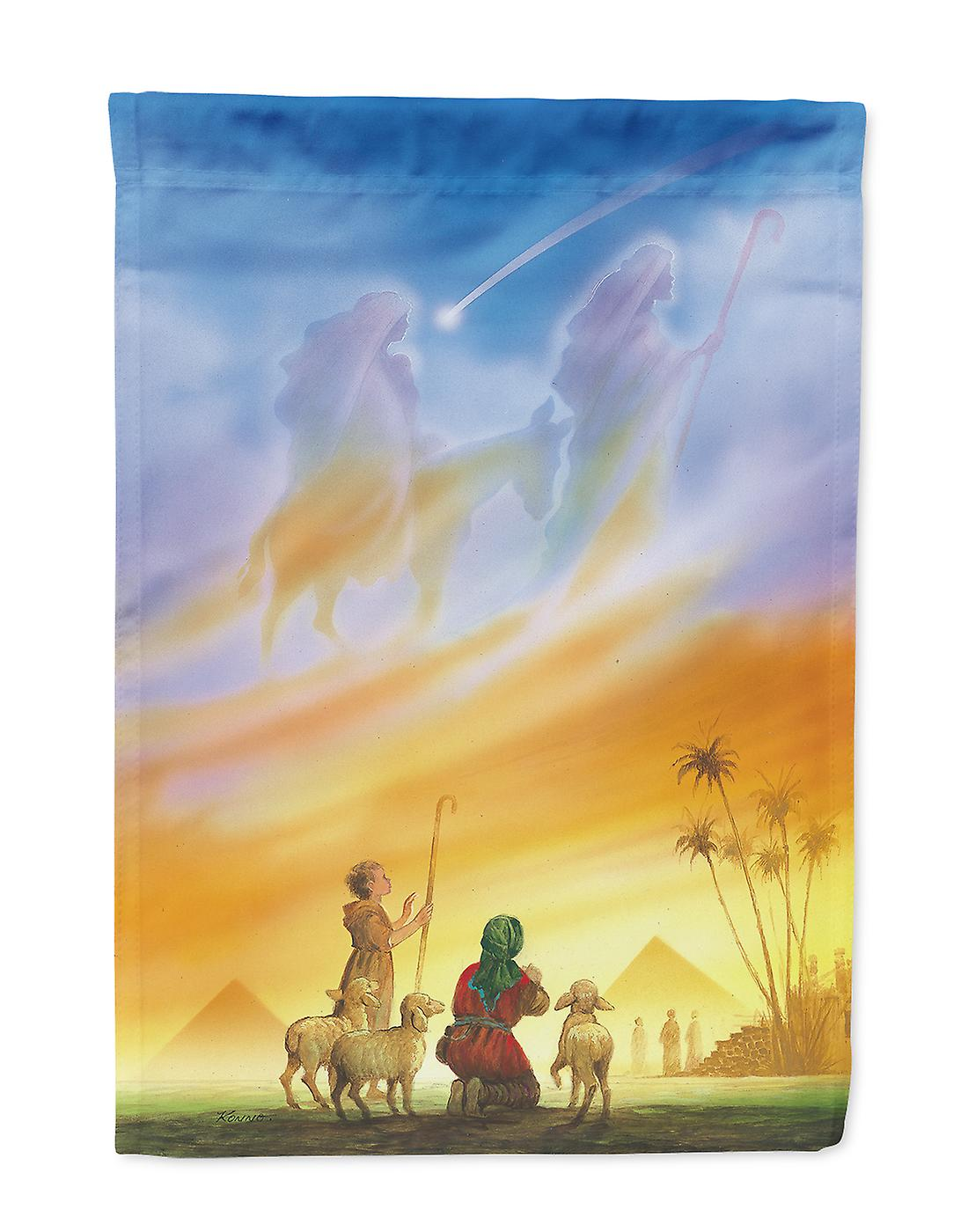 Hirten Bilder Weihnachten.Carolines Schätze Aph0939gf Hirten Geführt Weihnachten Fahne Garten Größe