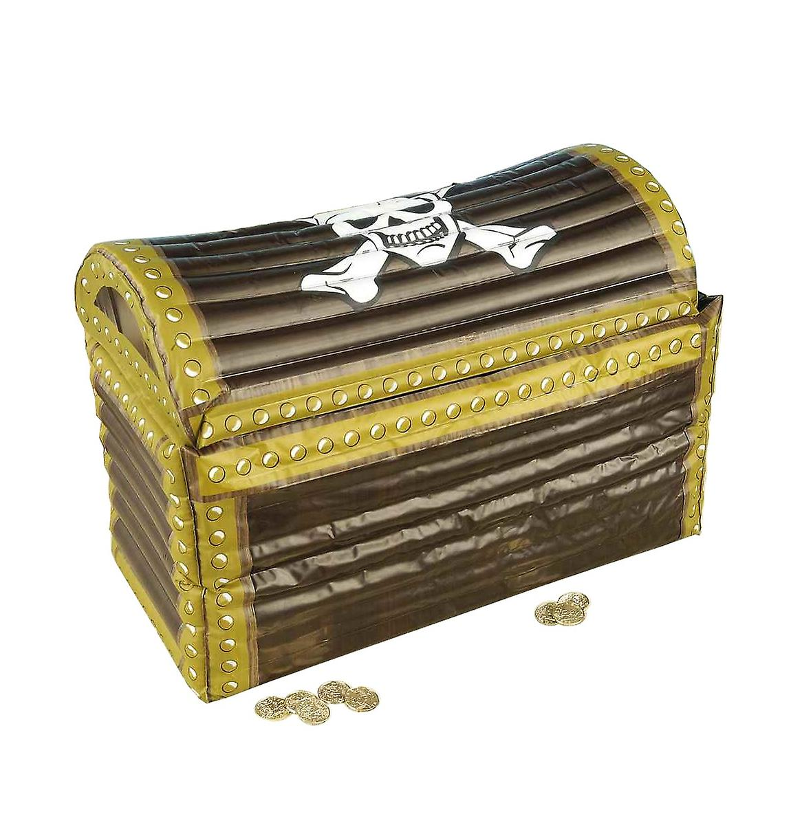 Buccaneer Pirate Inflatable Treasure Chest Drink Cooler Party