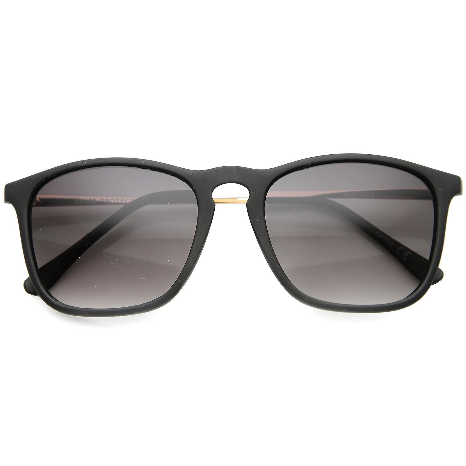 66c2528e7d Mens Rectangular Sunglasses With UV400 Protected Gradient Lens