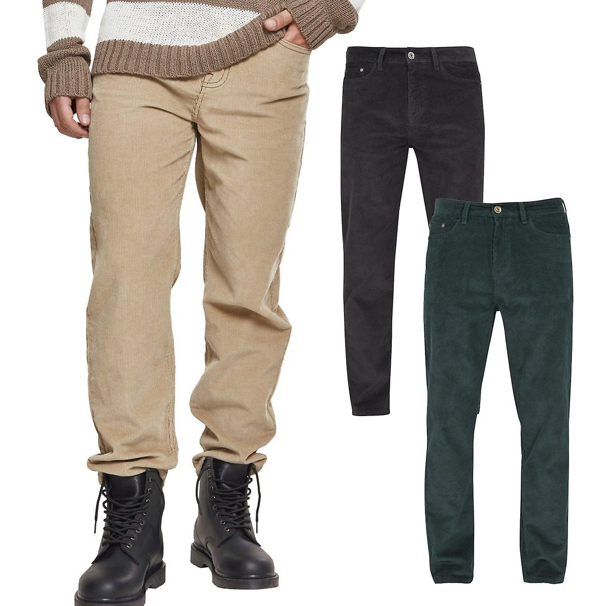 Urban classics kordfløyel 5 Pocket kordfløyel bukse
