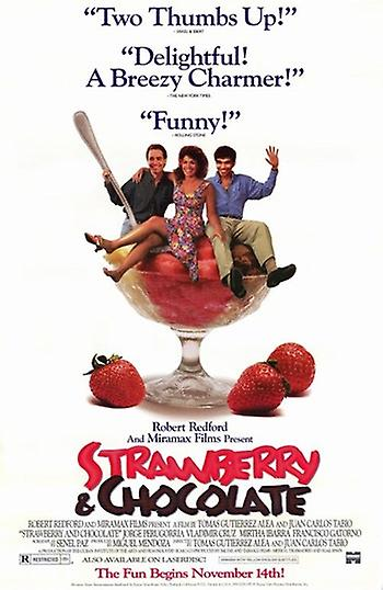 a critical analysis of strawberry and chocolate a movie story by senel paz The 1990s critical return to the the cuban film strawberry and chocolate senel paz's story and guttiérrez alea's film propose an idea of contemporary.