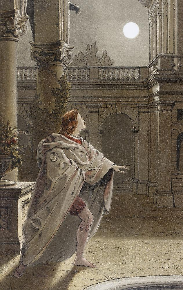 a comparison of romeo and juliet in the balcony scene by william shakespeare