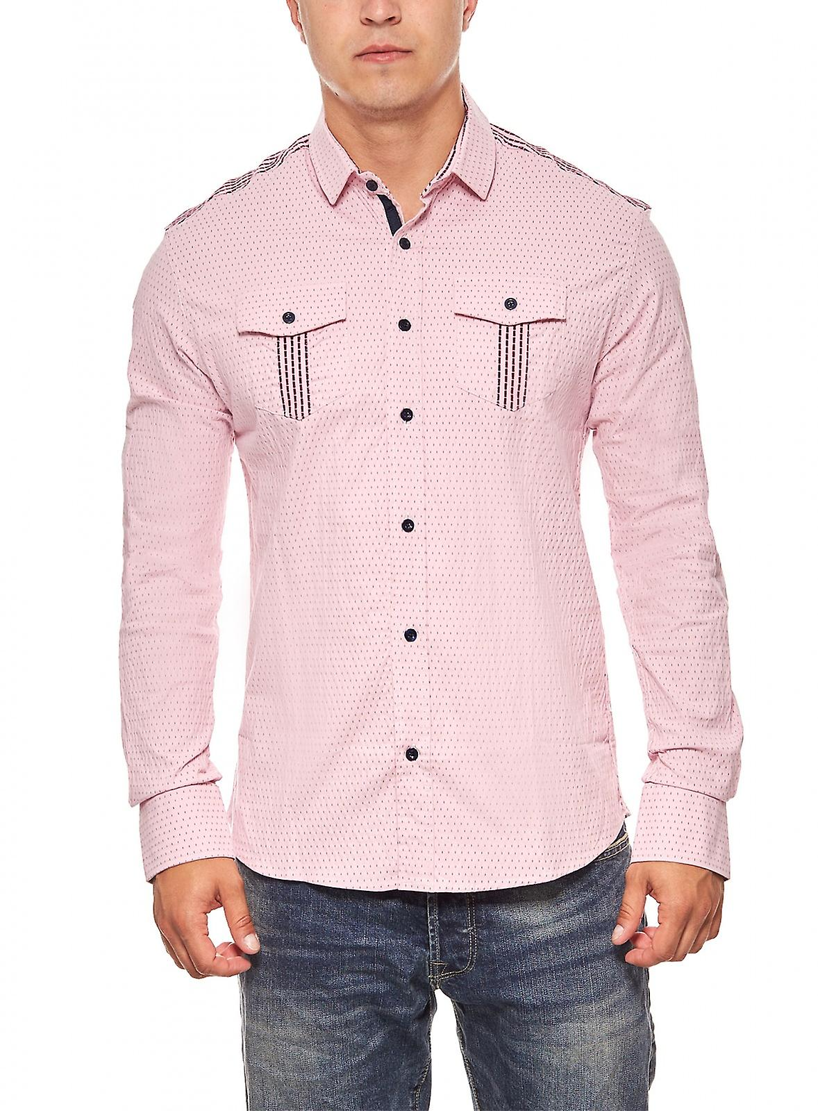 Business skjorta mens Tazzio mode rosa  59c8fc35cf0e6