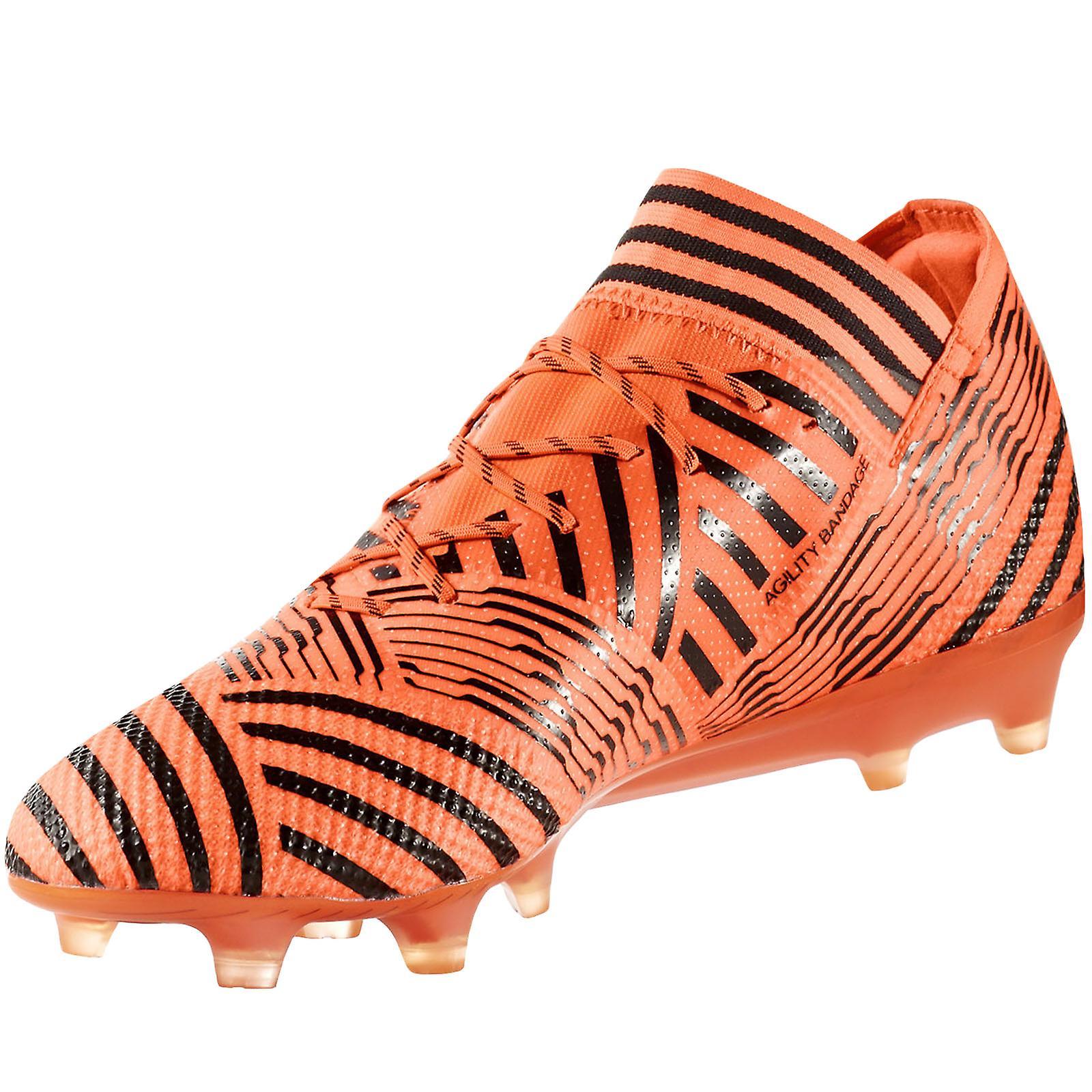 99880c76641a adidas Performance Mens Nemeziz 17.1 FG Football Soccer Training Boots -  Orange