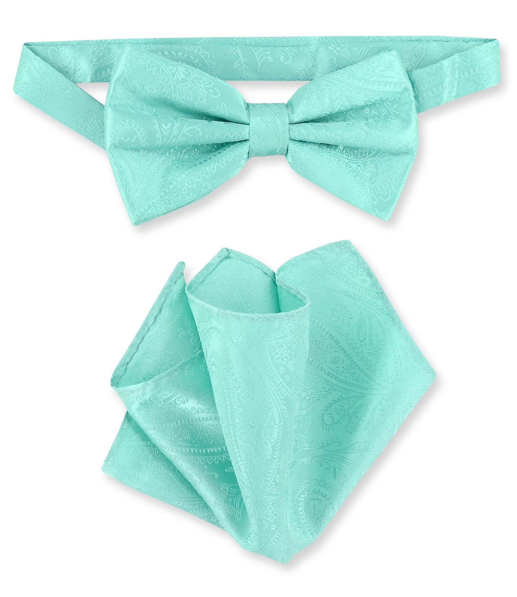 355c4af80ba7 Vesuvio Napoli BowTie Paisley Mens Bow Tie & Handkerchief   Fruugo