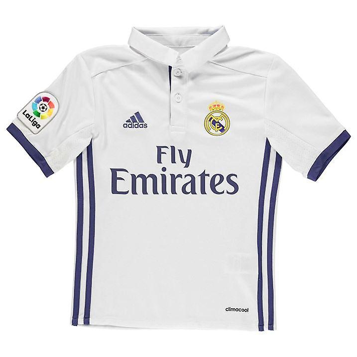 3c21dd09cd35a 2016-2017 real Madrid Adidas Inicio camisa (niños)