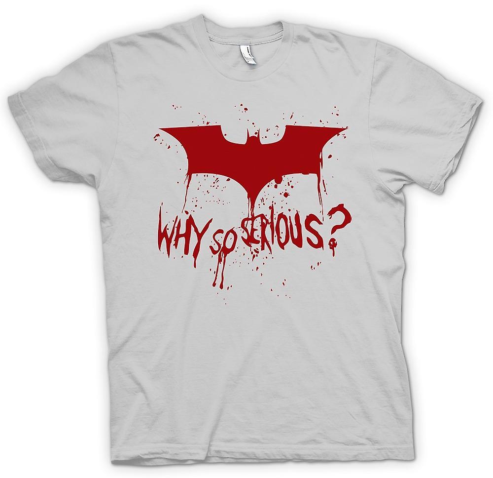 quality design 15ae5 e1e46 Herren T-Shirt - Batman-Logo - Warum so ernst