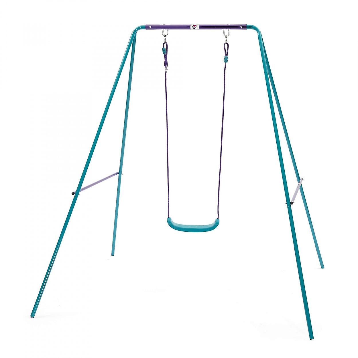 Plum Metal Single Swing Set Blue Purple Fruugo