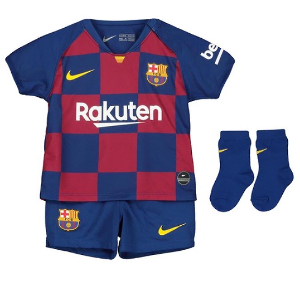 save off b8cfb d377e 2019-2020 Barcelona Home Nike Baby Kit