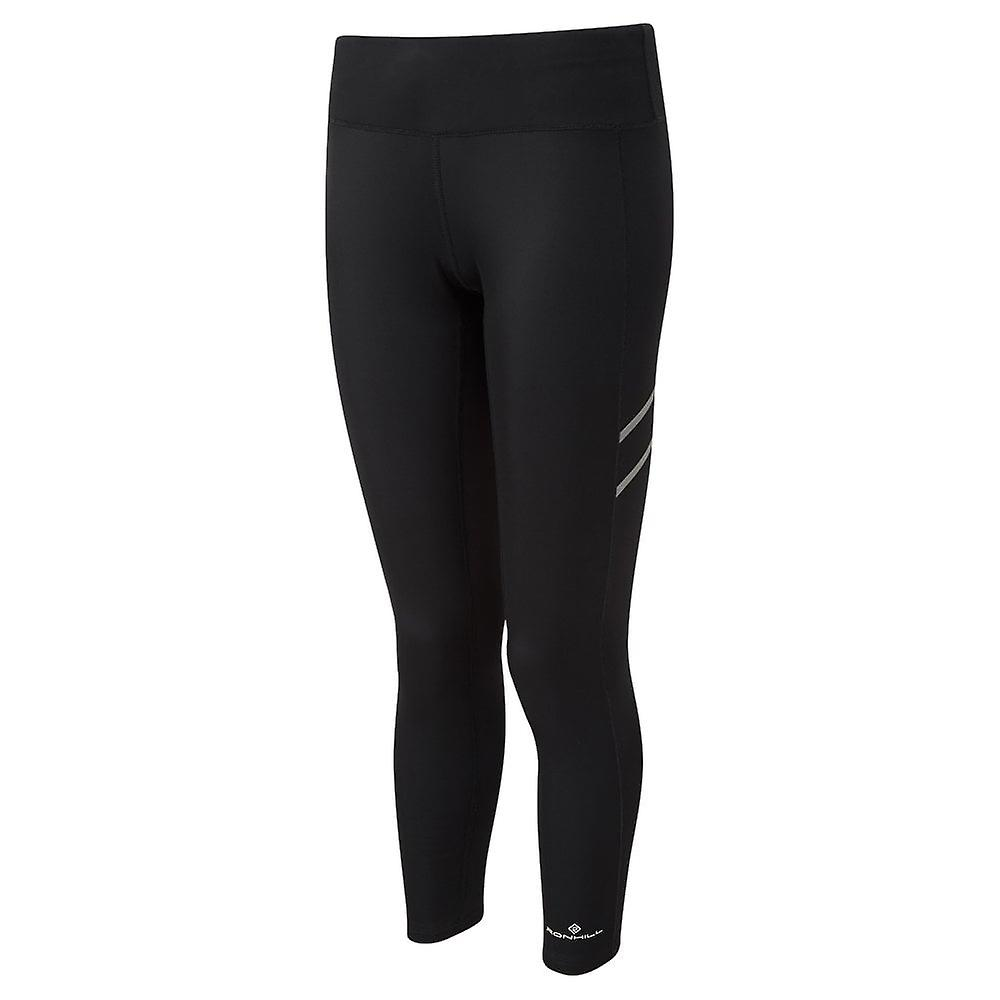 Ronhill Stride Winter Shield Womens Breathable Winter Running Tights Deep All Black