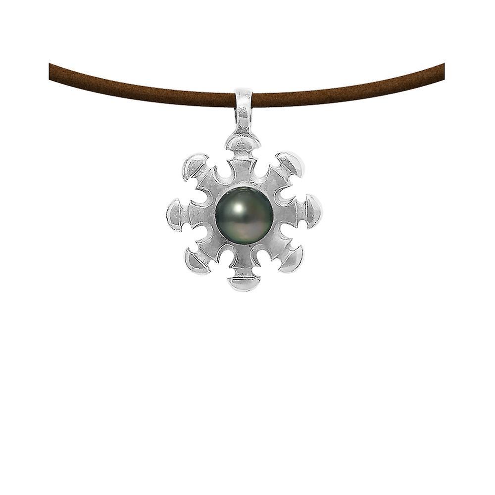 collier homme en perle