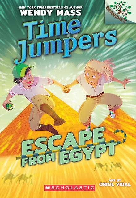Escape from Egypt by Wendy Mass & Illustrated by Oriol Vidal