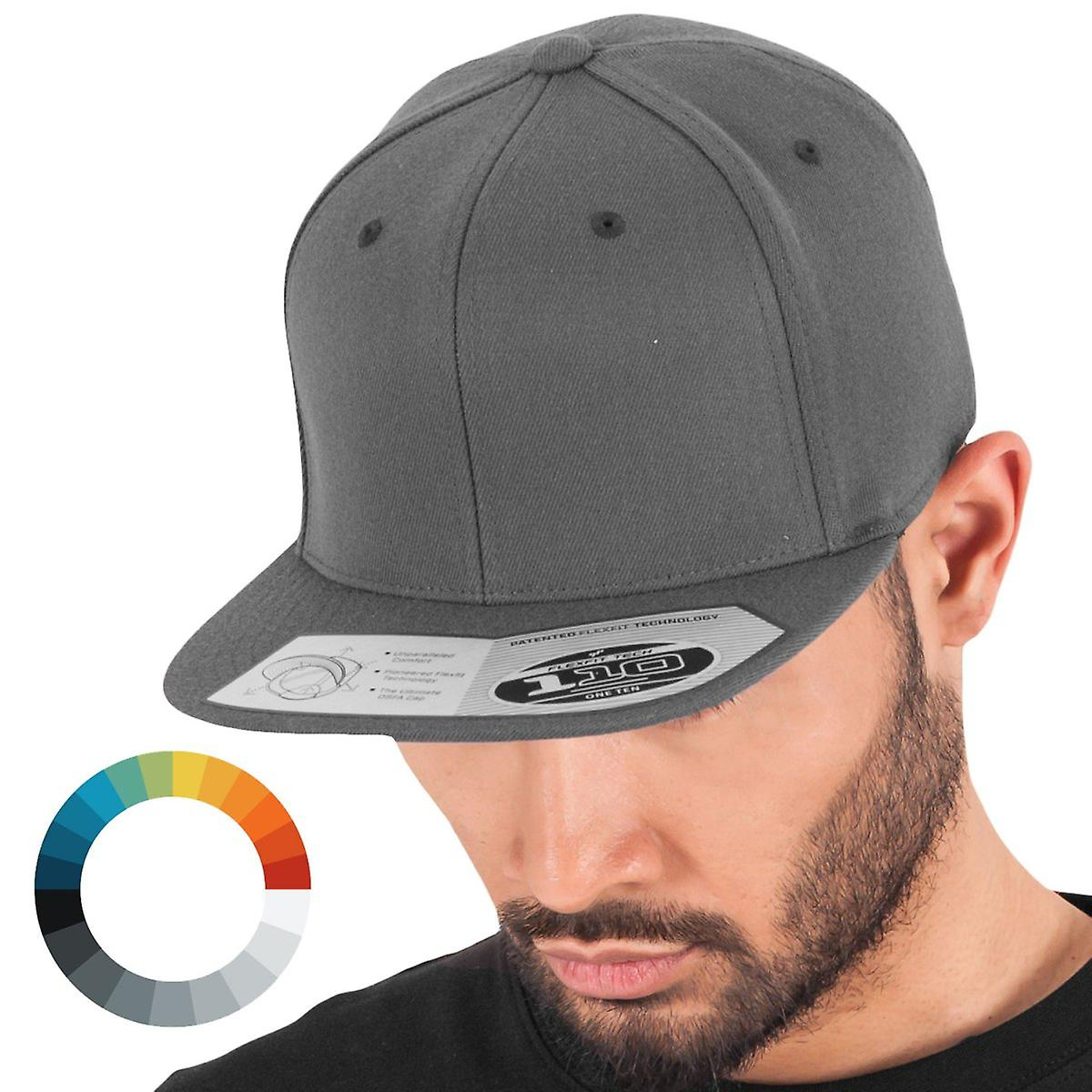 Flexfit 110 stretch-fit unisex Snapback Cap  50140f720e0