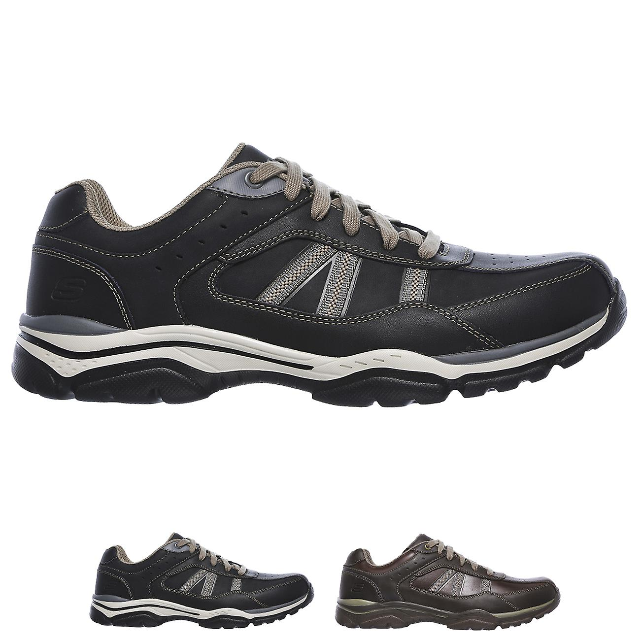 skechers memory foam relaxed fit