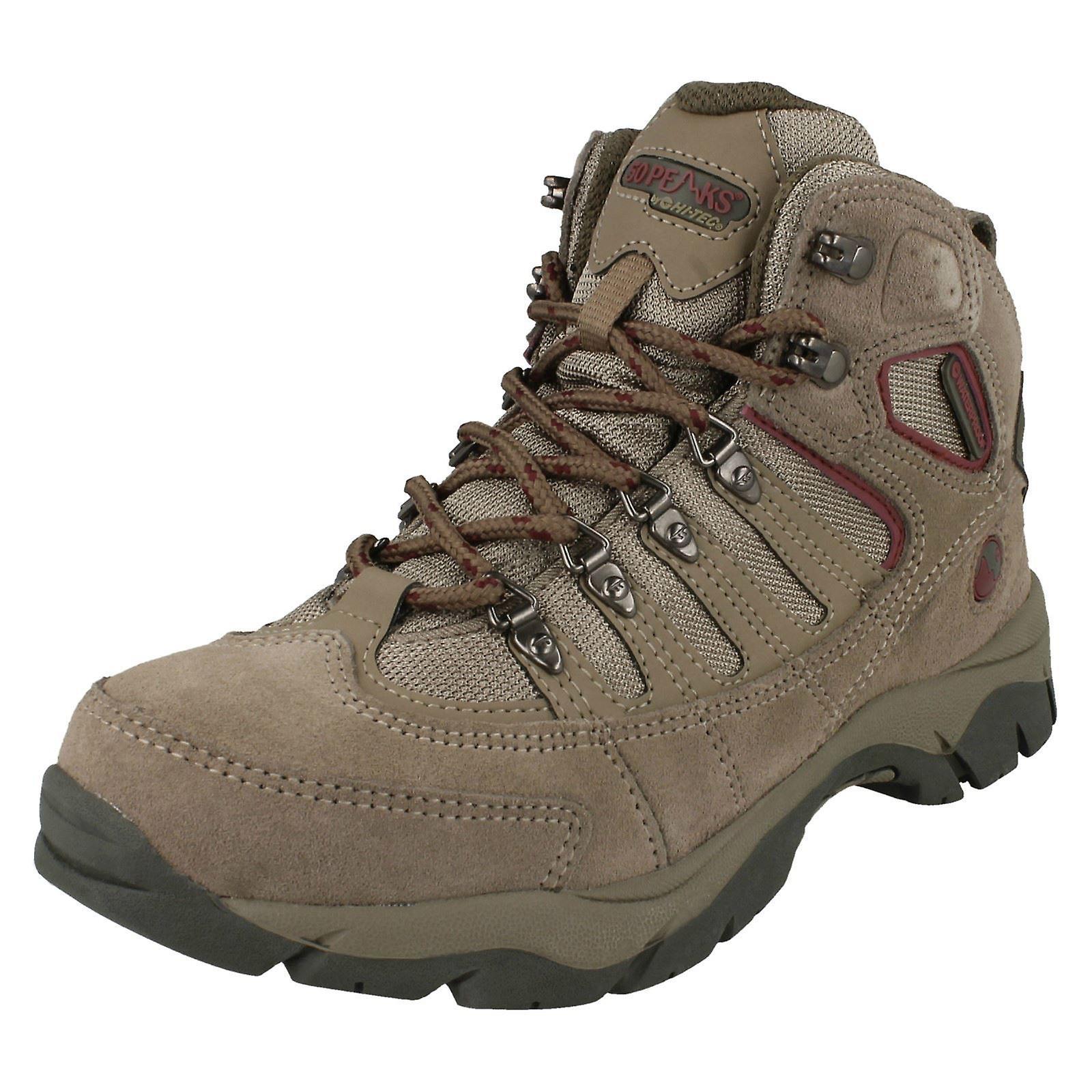 Ladies 50 Peaks By Hi Tec Lace Up Walking Boots Mckinley