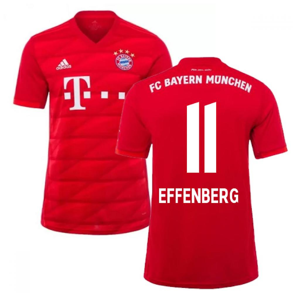 2019 2020 Bayern Munich Adidas Home Football Shirt (EFFENBERG 11)