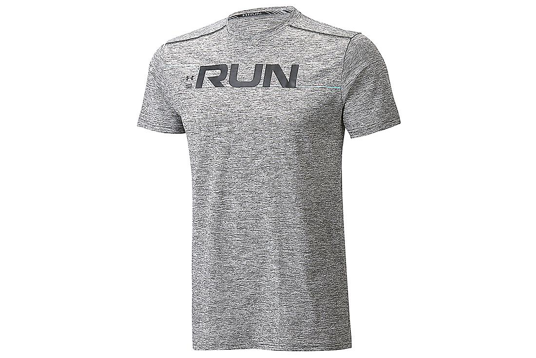 5abc347c Under Armour Run Front Graphic SS Tee 1316844-001 Mens T-shirt