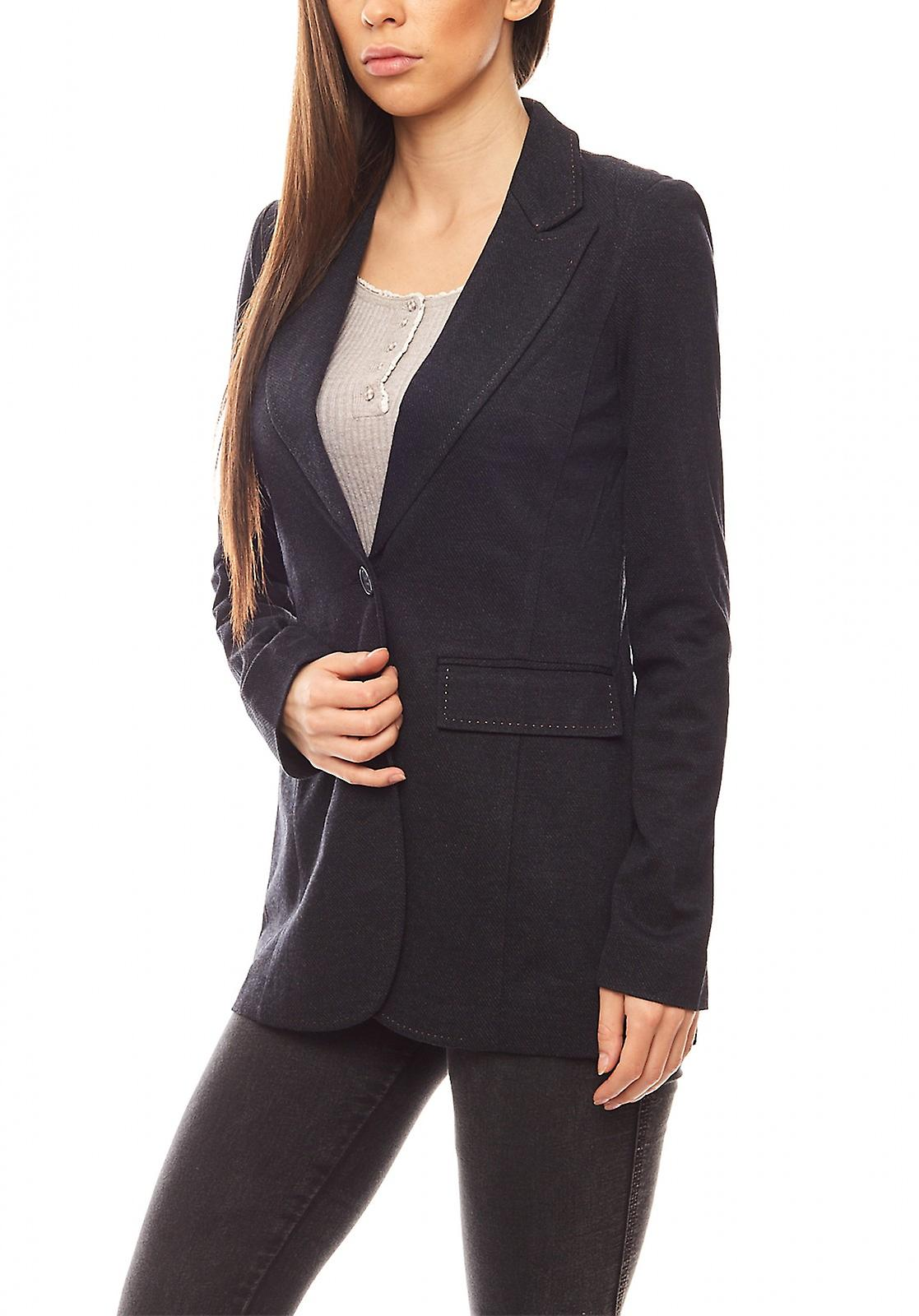 new product 4c53a 12d64 Ashley brooke of figure dominated women s Jersey Blazer Navy