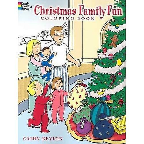 Christmas Family Fun Coloring Book (Dover Coloring Book)
