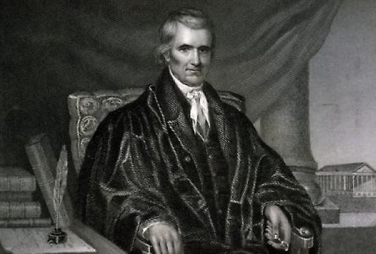 a look at the legacy of the john marshall in the us supreme court justice system The most influential of adams' final judicial appointments in 1801 was naming john marshall as chief justice of the supreme the federal court system.
