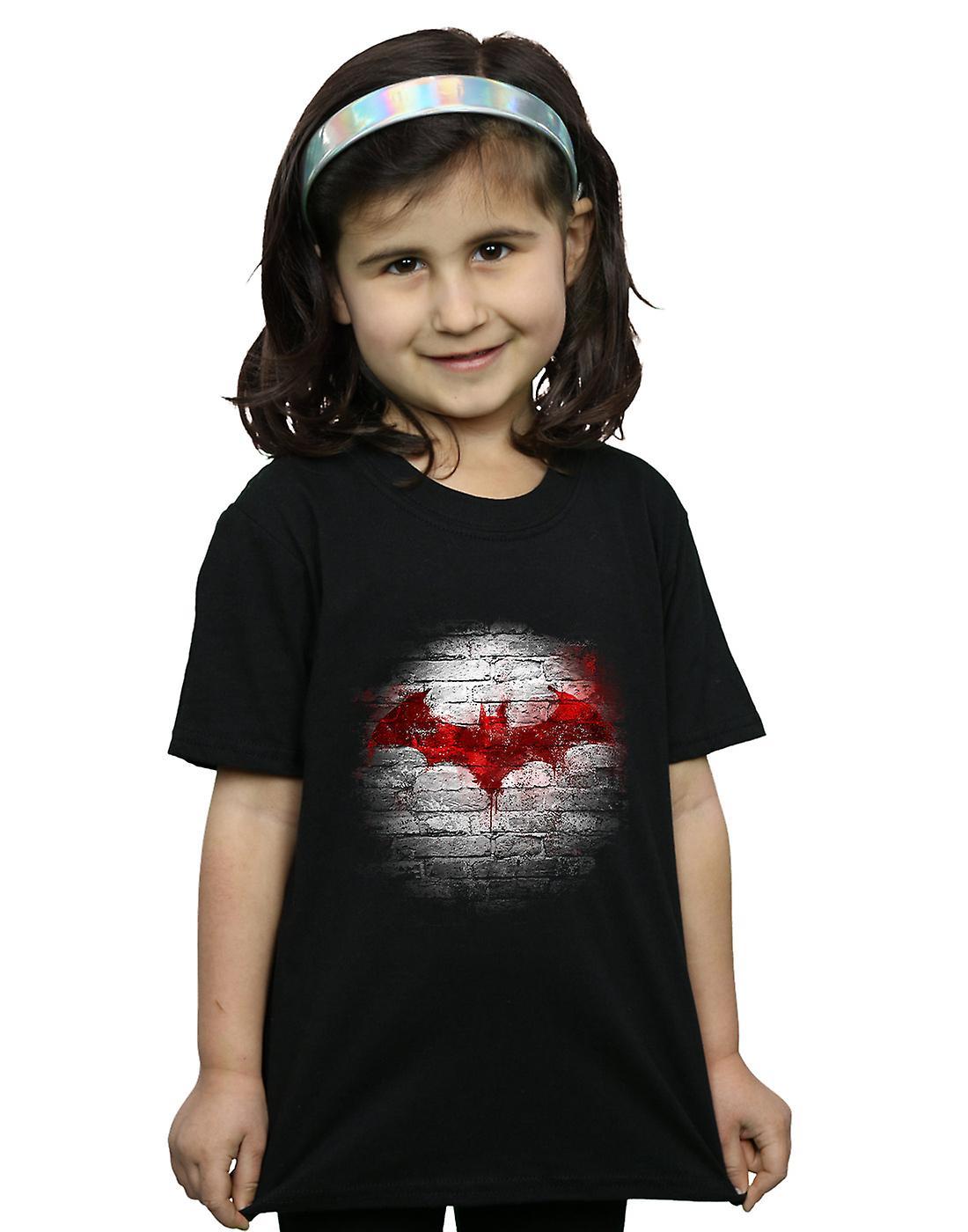 1080d863 DC Comics Girls Batman Logo Wall T-Shirt | Fruugo