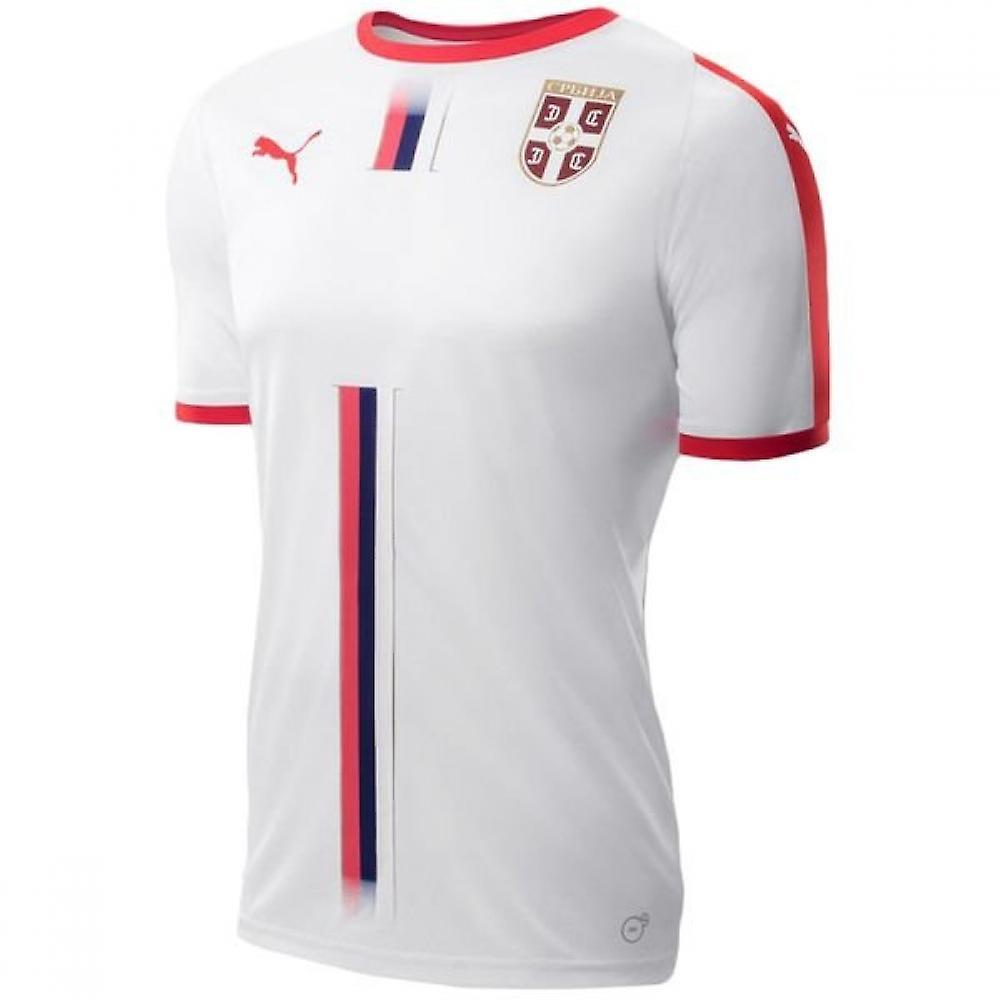 los angeles aa1ae 08c63 2018-2019 Serbia Away Puma Football Shirt