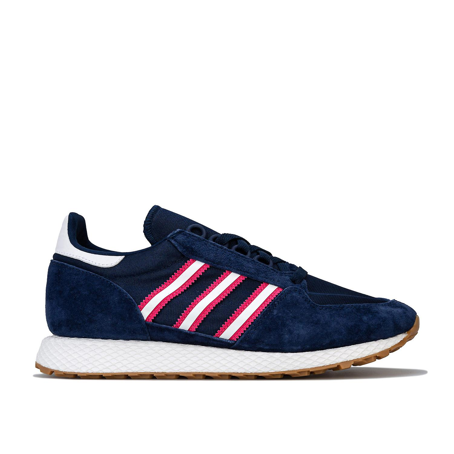Mens adidas Originals Forest Grove Trainers In Night Indigo Cloud White Real