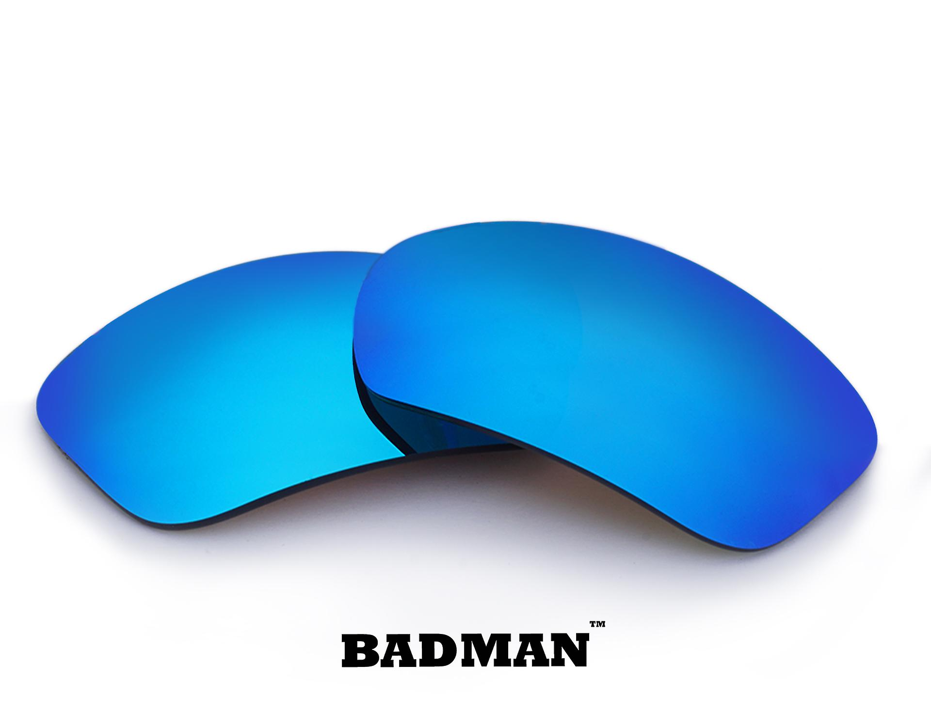 a556b881843c8 BADMAN Replacement Lenses Polarized Blue Mirror by SEEK fits OAKLEY  Sunglasses